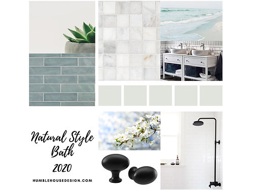 Natural Style Bath - Blue Gray