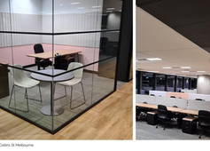 Steelcase support OPEN4 Victoria with Melbourne project for global client: