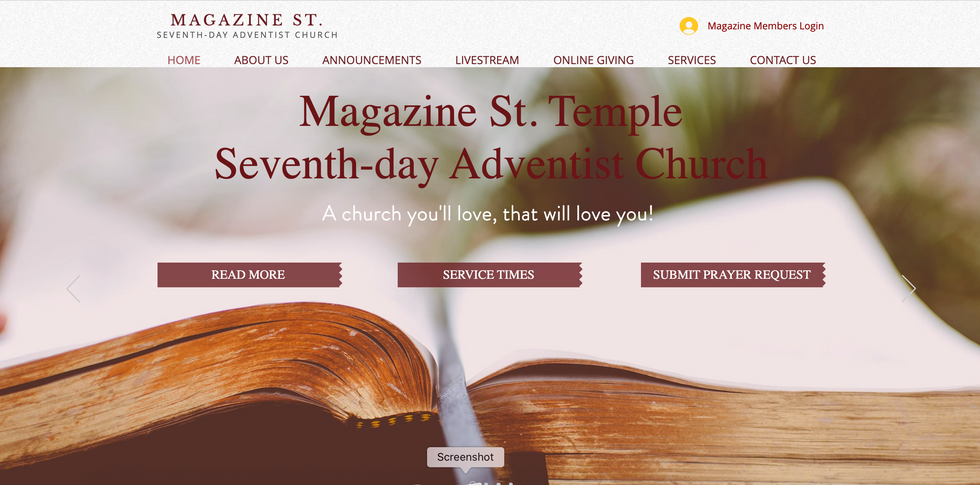 Magazine St. SDA Church