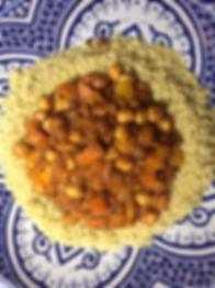 Chickpea & vegetable  tagine.JPG