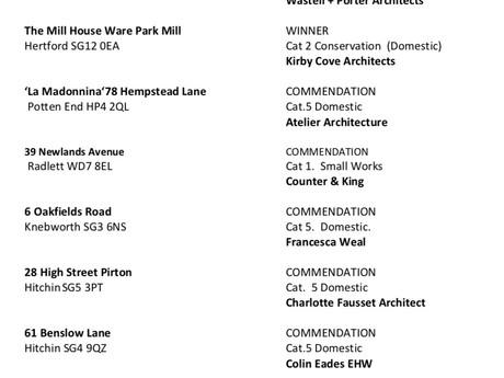 2018 Award Winners Announced