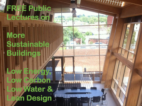 Free building sustainability lectures