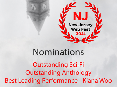 (exp)lore has been Nominated for Three Awards at the New Jersey Web Fest