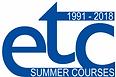 ETC-PHHP Summer Course 2018