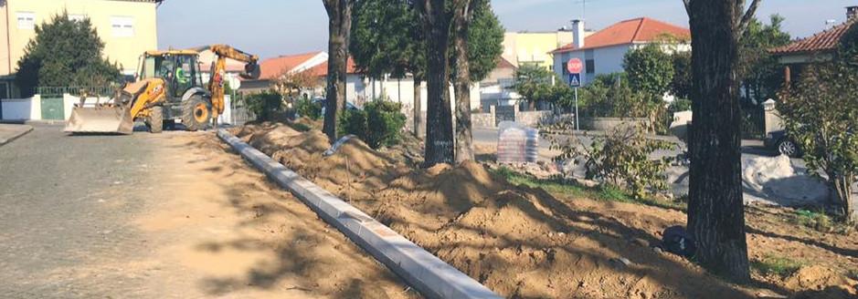 Arranjos urbanisticos em Arcozelo