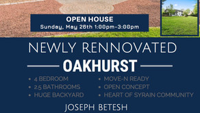 Newly Renovated House For Sale!Oakhurst NJ Open House Sunday, May 26th, 1pm-3pm