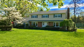 Oakhurst NJ Home For Sale Charming Center Hall Colonial on Oversized property