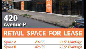 Retail Space for Lease 420 Ave P