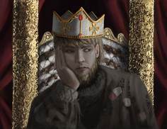 Commissioned Artwork - The Beggar King