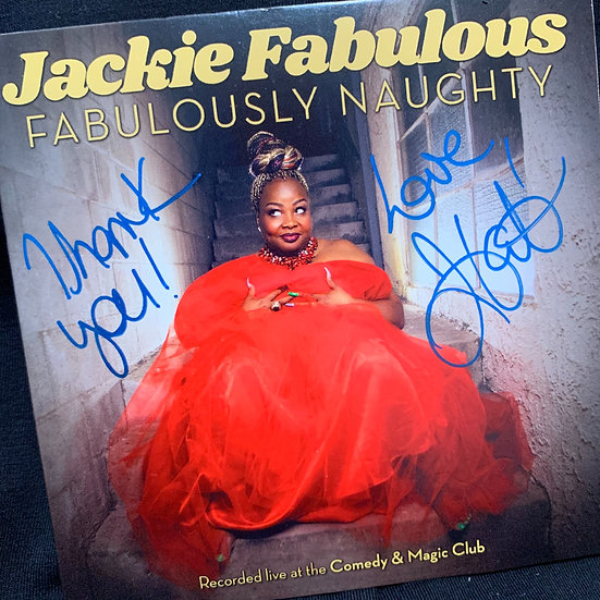 Signed Copy! Fabulously Naught Comedy Album