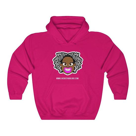 Jackie Head Icon - Pink Unisex Premium Hoodie
