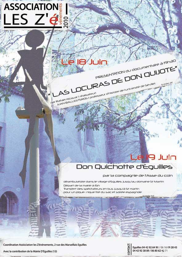 Affiche Don Quijotte
