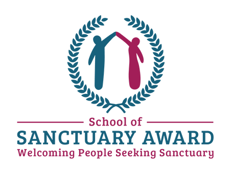 St Mary's School receives: School of Sanctuary Award