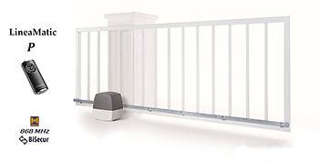 Портална автоматика LineaMatic за плъзгаща врата