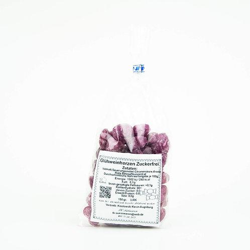 Glühweinherzen Zuckerfrei