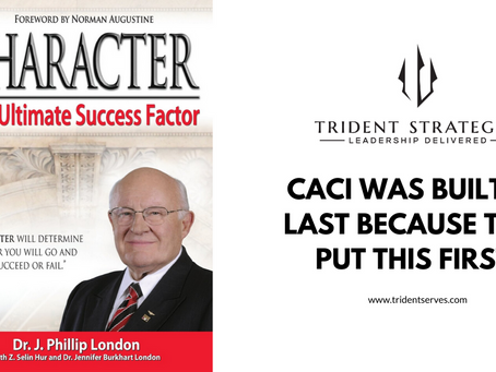 What Core Value helped CACI become a Multi-Billion Dollar Business?