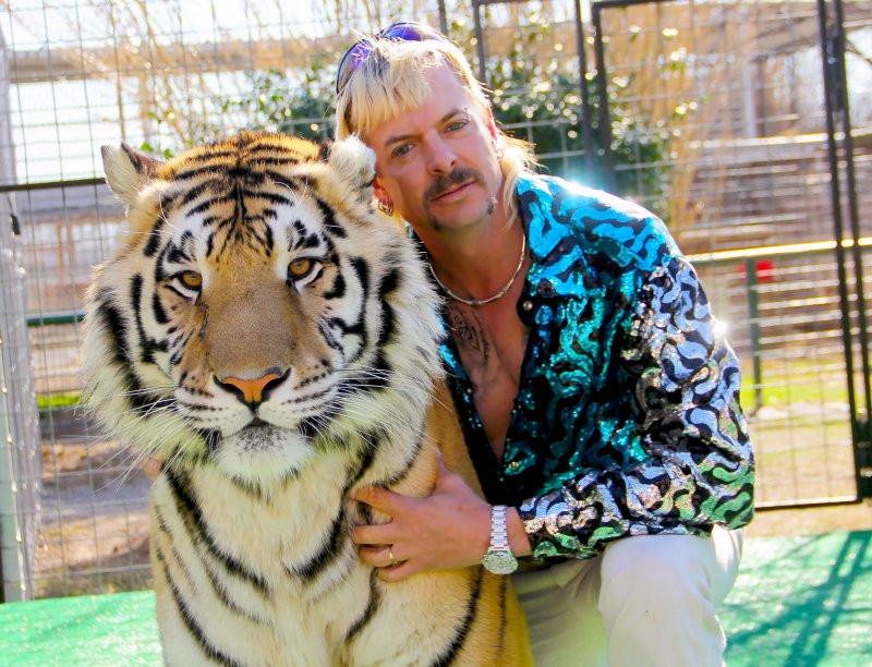 Joe Exotic of Netflix's Tiger King.