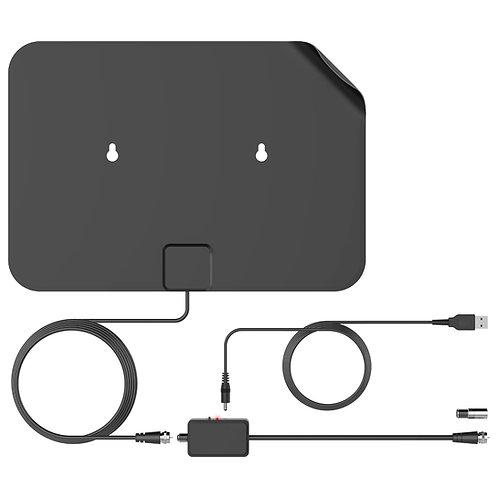 דגם AU60A - אנטנה מוגברת דקה במיוחד לקליטת שידורי עידן+ באיכות HD