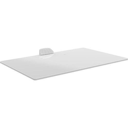 דגם E85GW - מדף זכוכית לבן לאודיו / וידיאו