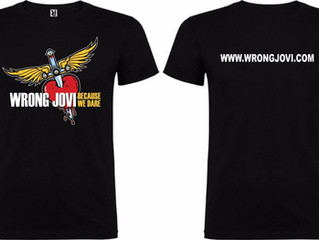 WRONG JOVI SHIRTS NOW IN STOCK!