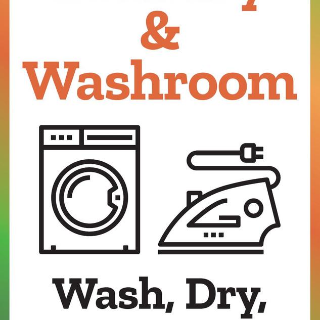 Laundry & Washroom Sign.JPG
