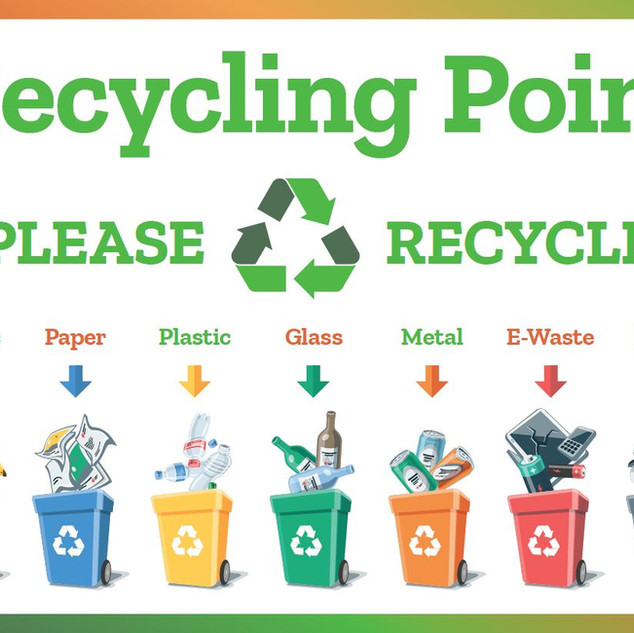 Recycling Point Sign.JPG