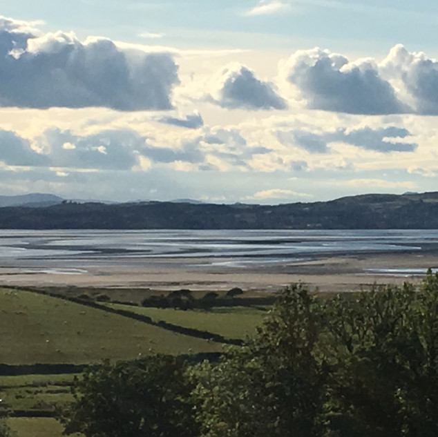 View of Morecambe Bay to Grange Over San
