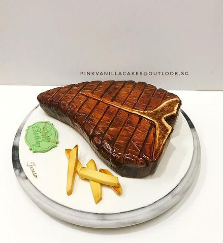 Steak Frites Cake