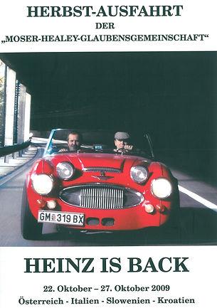 Heinz is back! Vier Länder in sechs Tagen und insgesamt fast 1.800 Kilometer.