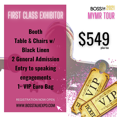 First Class Exhibitor