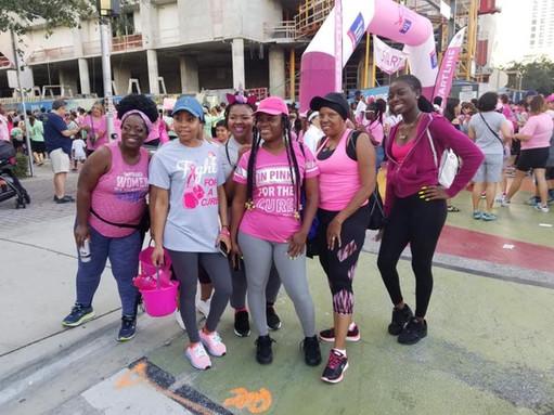 Boss Talk Expo walks for Breast Cancer