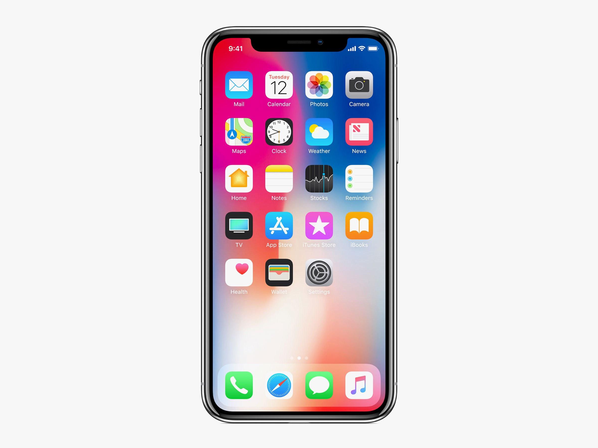 iPhone X, XR, XS screen repair
