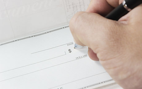 Signing Check