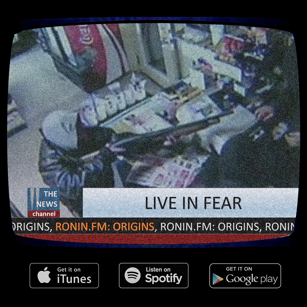 "One of my ""Live In Fear"" promotional images."