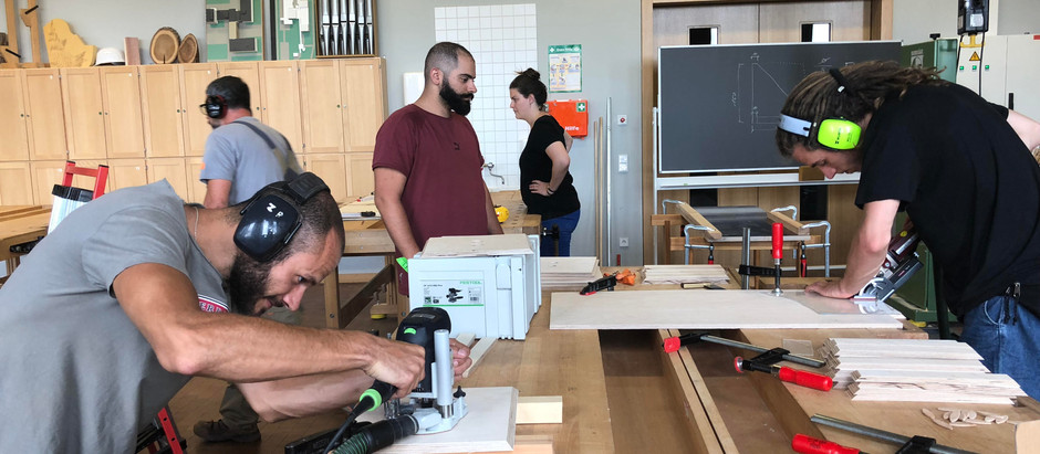 The 80-year-old Wood workshop in Berlin May 27-June 1