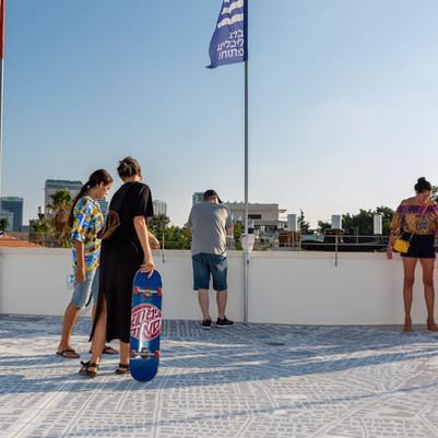 מפת העיר על גג בית ליבלינג