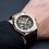 mens apex rose gold watch