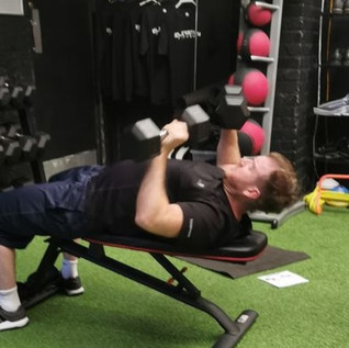 push day personal training session