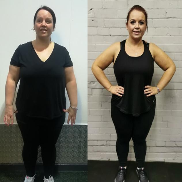 warrington personal training results