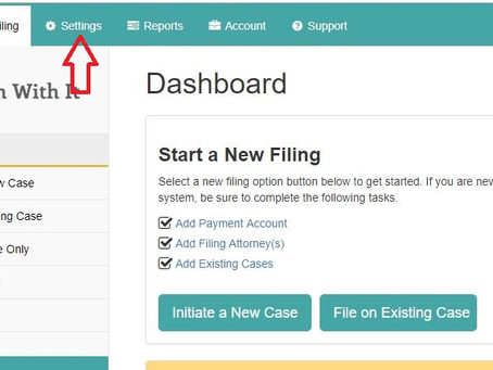 How to Set-up Payment Option for eFiling online