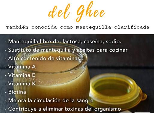 Beneficios del Ghee