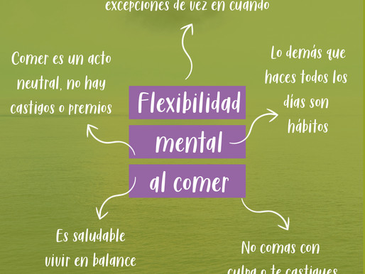 Flexibilidad al comer