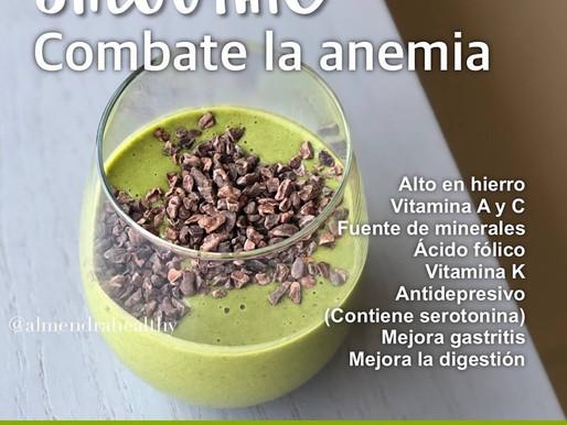 Combate la anemia