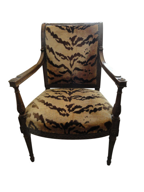 20th c Directoire style Fauteuil