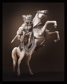 Art   The King of Kings on the White Horse, Revelation 19