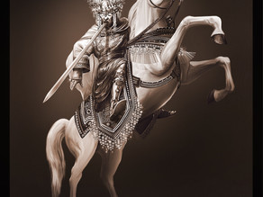 Art | The King of Kings on the White Horse, Revelation 19
