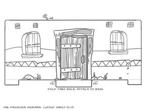 Sunday School Crafts | Passover Diorama