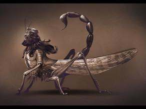 Locust Creature, Revelation 9