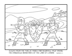 Coloring Pages   Scouting the Land
