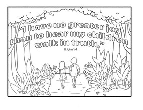Copy of Coloring Pages | III John: 4